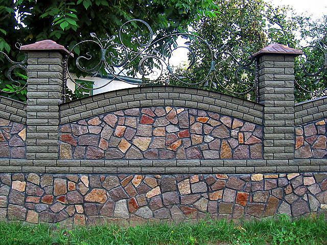 Забор из покрышек - достоинства и недостатки, как сделать ...