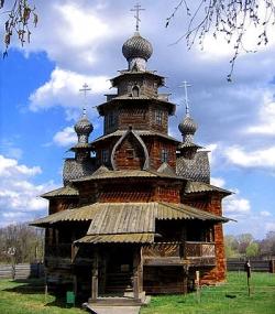 Деревянное зодчество в России