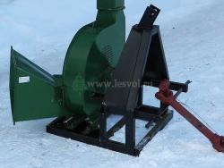 Роторная рубительная машина - щепорез АИР/15-РН с приводом от трактора